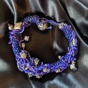 Jewelry - Hand beaded bracelet